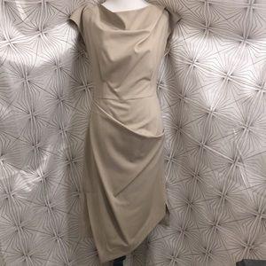 Michael Kors Tan Mid-Length Dress